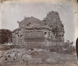 General view of a Jain temple near the Kumbha Shyama Temple, Chittaurgarh [Chitorgarh]